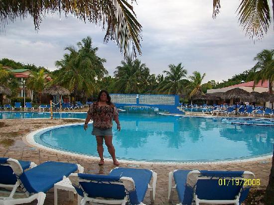 Iberostar Tainos: en la piscina