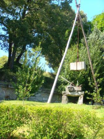 Viana do Castelo, Portugal: Dans le jardin de Santa Luzia