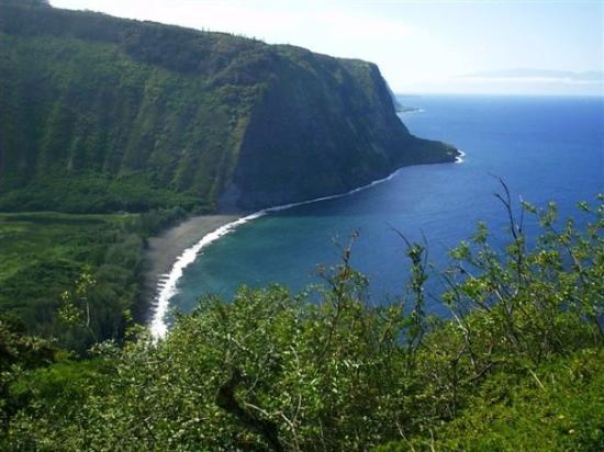 """Kailua-Kona, HI: Waipio Valley """"Big Island Of Hawaii"""" (Sept. 2003)"""