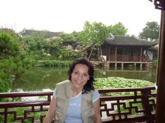 Humble Administrator's Garden: En el Jardín del Pescador.