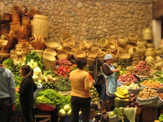 ซูเกร, โบลิเวีย: Sucre Market