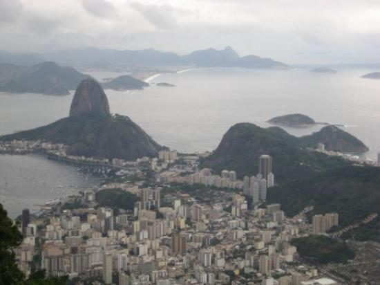 Pão de Açúcar: View of Sugar Loaf from the Christ statue