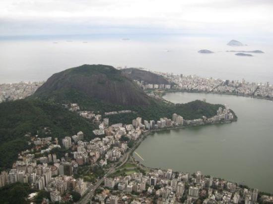 Copacabana Beach: View of Copacabana and Ipanema from the Christ statue
