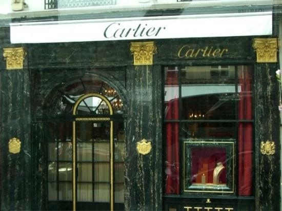 Galerie Downtown : The original Cartier shop.