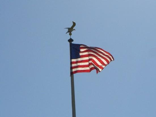 เมืองลักเซมเบิร์ก, ลักเซมเบิร์ก: American Flag in Luxembourg