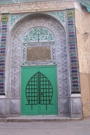 Yazd, อิหร่าน: Another door.