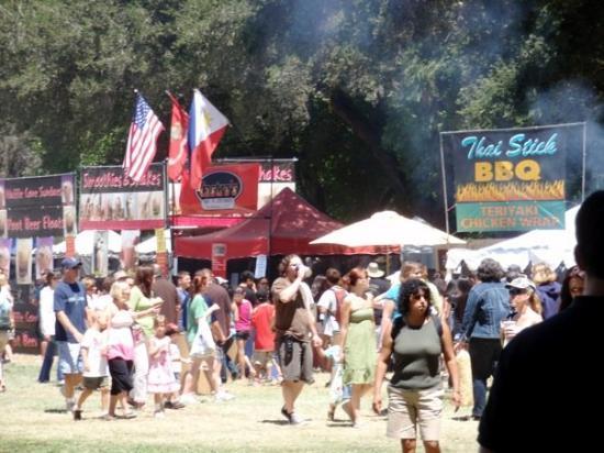 Gilroy, CA: Food, food and more food.