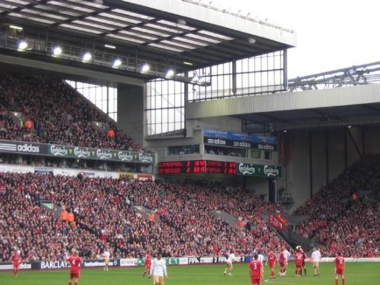 Anfield Stadium: 2008 Anfield, Liverpool