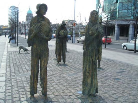 The Famine Sculptures: Famine Memorial