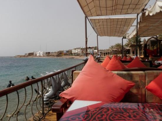 One Of The Restaurants In Dahab Right By Water This Place Is Really