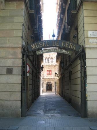 Museu de Cera: Entrance to Museo de Cera