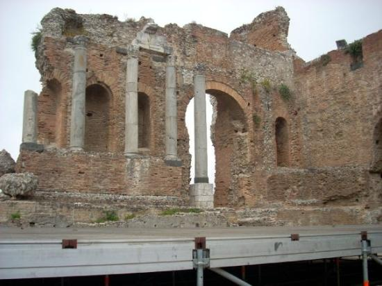 Ancient Theatre of Taormina: The greco-roman amphitheater in Taormina