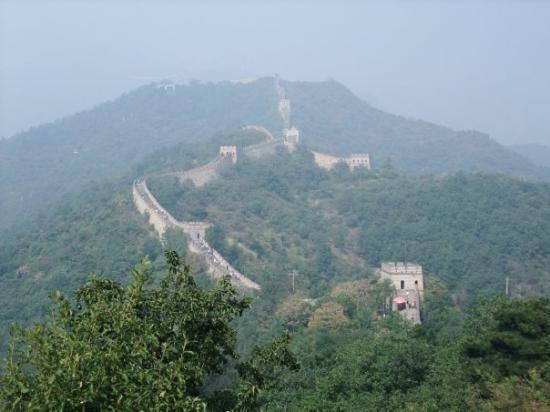 กำแพงเมืองจีน ภาพถ่าย