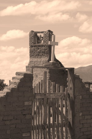 Sacred Burial Ground, Taos Pueblo