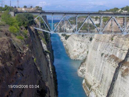 คอรินท์, กรีซ: Corinthian Canal