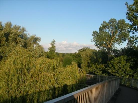 Bridge to Markeaton Park, Derby