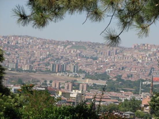 อังการา, ตุรกี: View from Anadolu Medeniyetleri müzesi