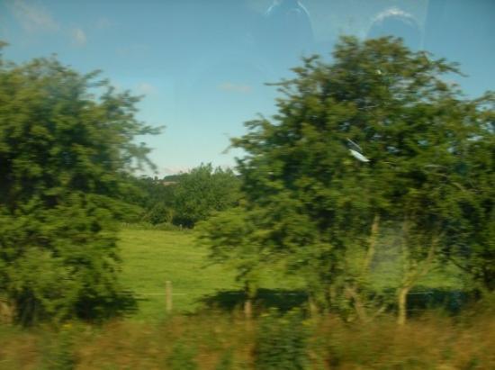 อ๊อกซฟอร์ด, UK: On the train to Oxford