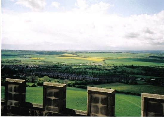 Линкольн, UK: View from Lincoln castle