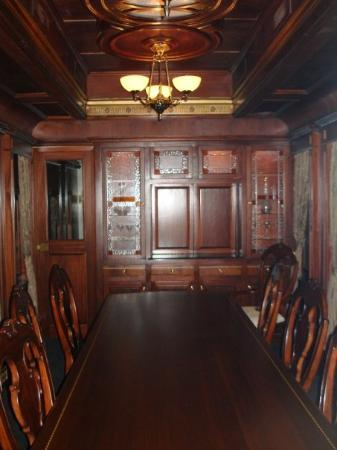 The Durham Museum: The first-class dining car.  I started at the wrong end of the train, so there are more pics of