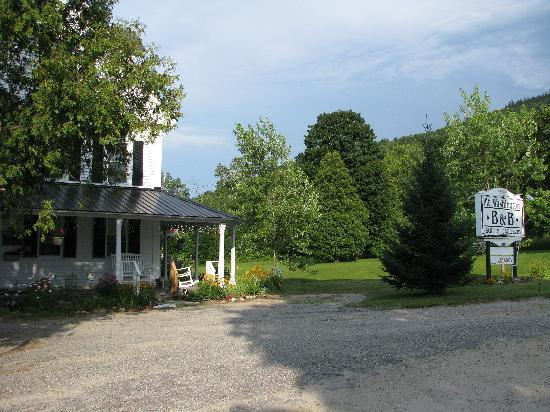 Mt. Washington Bed and Breakfast: From the parking lot