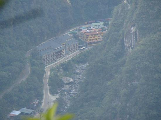 SUMAQ Machu Picchu Hotel: our hotel was at the end of the road!