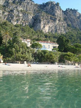 Hotel Comté De Nice: Strand: Plage du petit Afrique