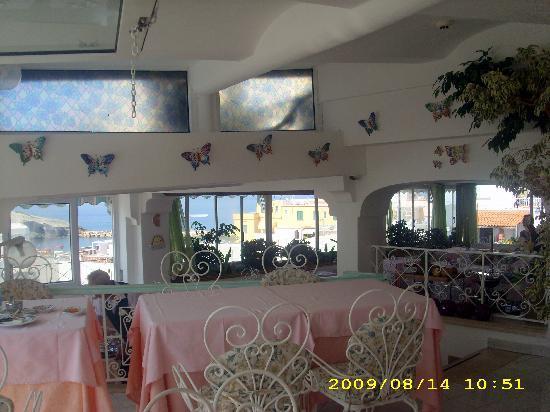 Hotel La Palma: sala colazione