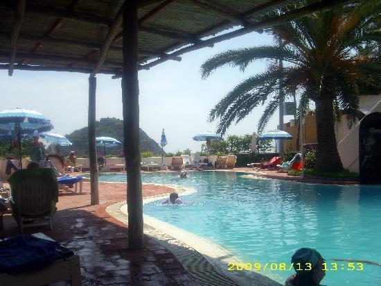 Hotel La Palma: piscina acqua marina