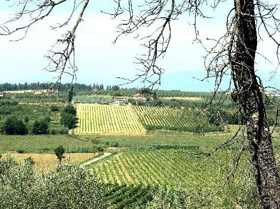 Agriturismo Spazzavento: le site dans la campagne