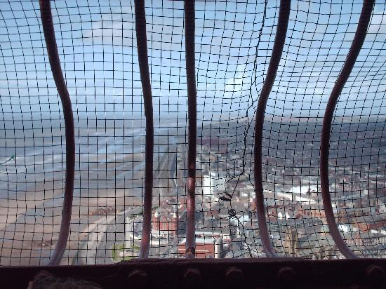 The Blackpool Tower: The view from the top of the tower