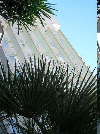 Hotel Oleander: la facciata dell'Hotel