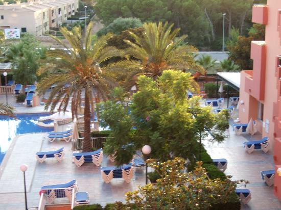 OLA Hotel Maioris: Evening view from balcony