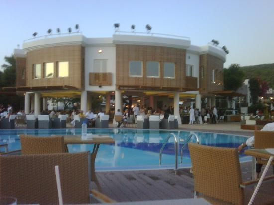 Piscine et club fitness picture of club med bodrum for Club piscine super fitness laval auteuil