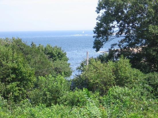 Seacrest Manor: view from deck