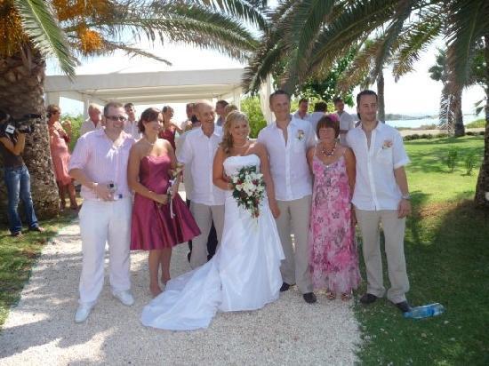 Nissi Beach Resort: Wedding Day