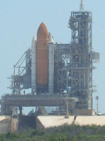 NASA Kennedy Space Center Visitor Complex: Shuttle Lauch Pad 39-A