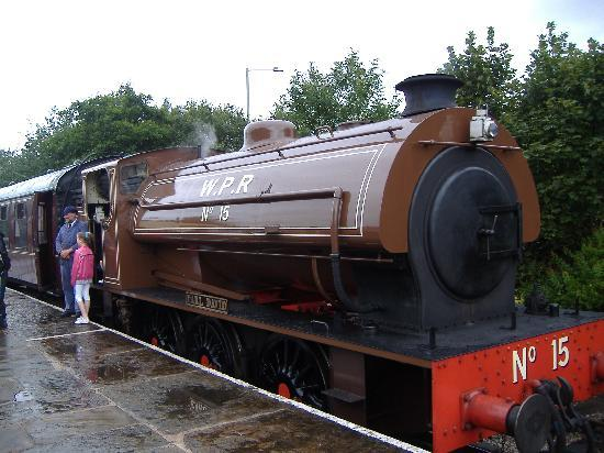 Morecambe, UK: Steam Train journey  Excllent *****