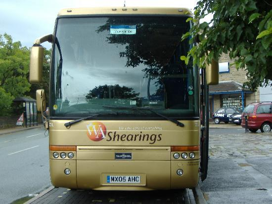 Bay Strathmore Hotel : Coach was Excllent plenty of leg room