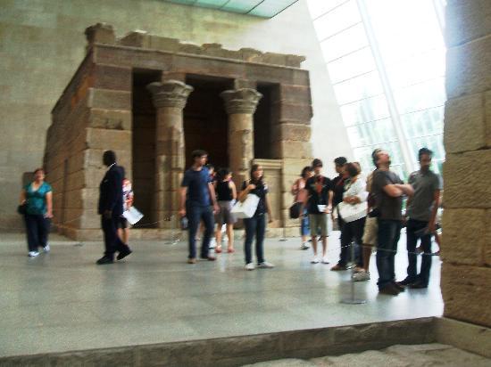 พิพิธภัณฑ์ศิลปะเมโทรโปลิทัน: la sala egizia