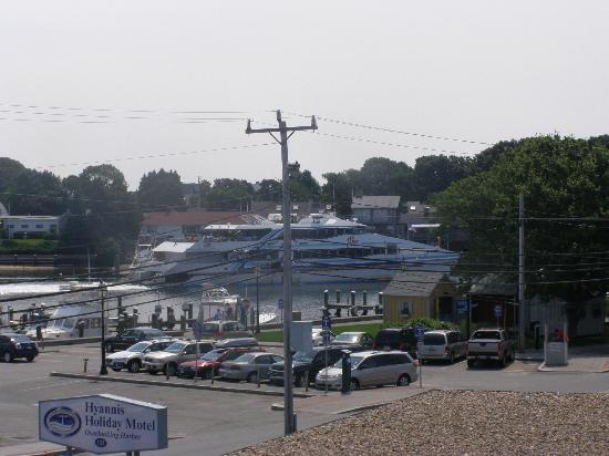 Hyannis Holiday Motel: our view