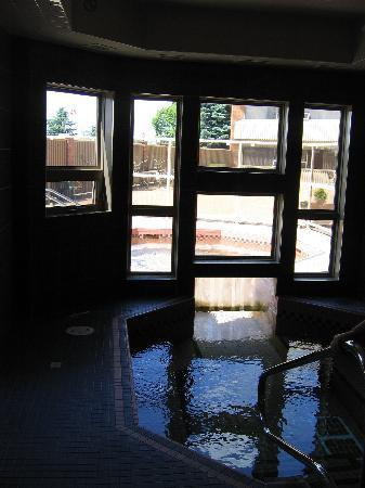 Medicine Hat Lodge Resort, Casino & Spa: Indoor/Outdoor Hot Tub