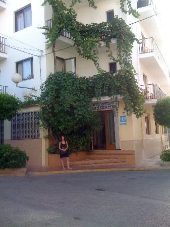 Residencia Horizonte : fachada del hostal horizonte
