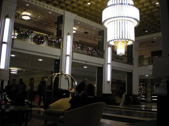 โรงแรมเดอะนิวยอร์คเกอร์: Le hall