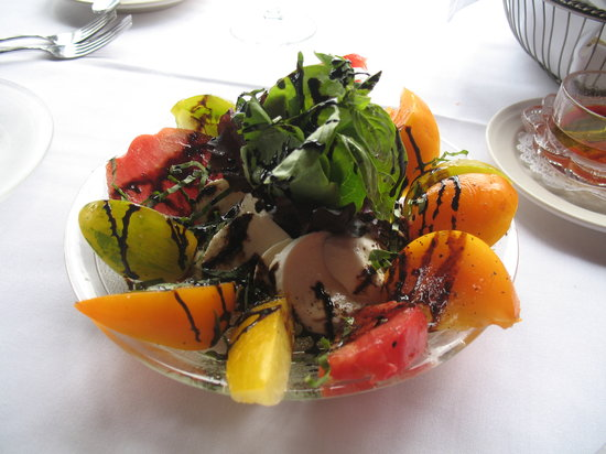 Kerstin's Restaurant: Heirloom tomatoes