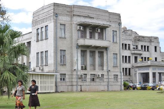 Holiday Inn Suva: Edificio del Gobierno