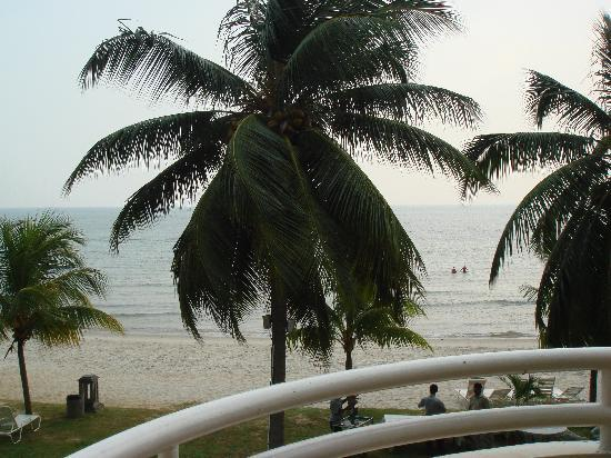 The Regency Tanjung Tuan Beach Resort: View from the balcony