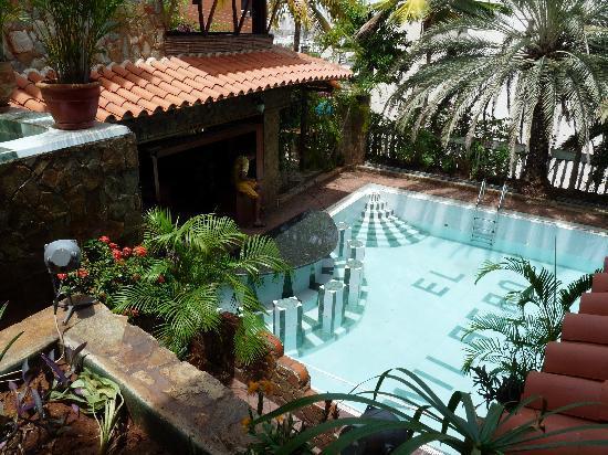 Hotel Castillo El Milagro: Topavond