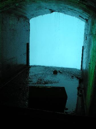 Journey Behind the Falls: This is what the portal behind the falls looks like.