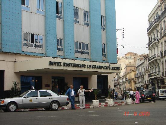 Hotel Timgad: Entrée Hôtel